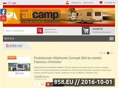 Miniaturka domeny www.allcamp.pl