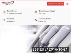 Miniaturka domeny www.allecoudent.pl