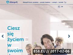 Miniaturka domeny www.allergoff.pl