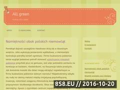Miniaturka domeny www.allgreen.pl