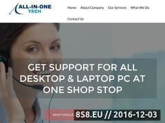 All in One Tech Support Website