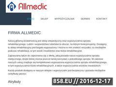 Miniaturka domeny www.allmedic.pl
