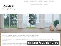 Miniaturka domeny www.alloc.pl