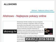 Miniaturka domeny allshows.pl