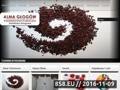 Miniaturka domeny alma.glogow.pl