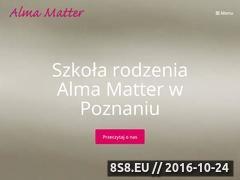 Miniaturka domeny almamatter.edu.pl