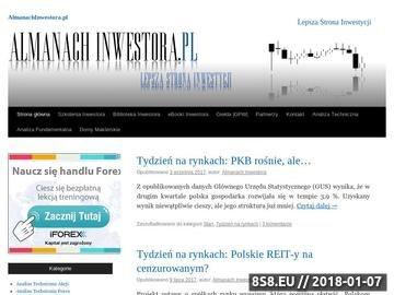 Zrzut strony Inwestor Giełdowy