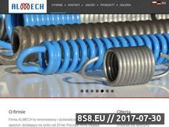 Miniaturka domeny www.almech.com.pl