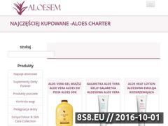 Miniaturka domeny www.aloesem.pl