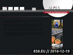 Miniaturka domeny www.alpex.net.pl