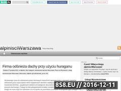 Miniaturka domeny alpinisciwarszawa.blog.pl