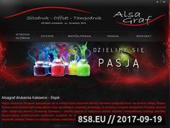 Miniaturka domeny www.alsagraf.pl