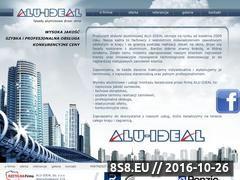 Miniaturka domeny alu-ideal.pl