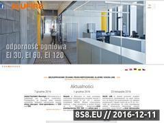 Miniaturka domeny www.alufire.pl