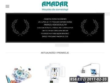 Zrzut strony Radiografia Amadar