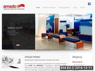 Zrzut strony AMADO MEBEL meble na zamówienie