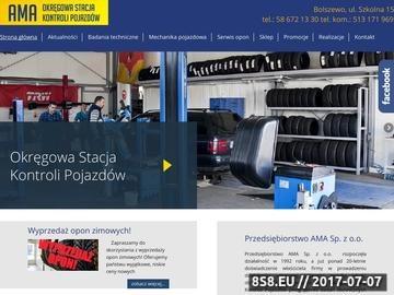 Zrzut strony Przedsiebiorstwo AMA sp. z o.o.