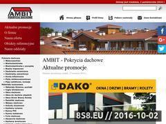 Miniaturka domeny www.ambit.gda.pl