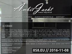 Miniaturka domeny ambitjacht.pl
