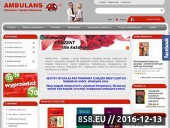 Miniaturka domeny www.ambulans.com.pl
