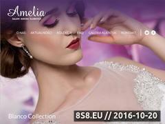 Miniaturka domeny www.amelia-suknie.pl