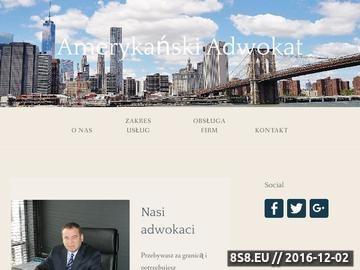 Zrzut strony Kompleksowe usługi z każdego zakresu prawa