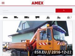 Miniaturka domeny www.amex-car.pl