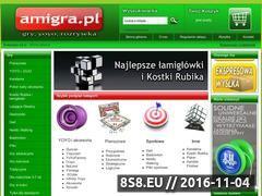 Miniaturka domeny www.amigra.pl