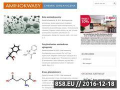 Miniaturka domeny aminokwasy.com
