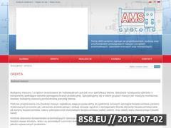 Miniaturka domeny www.ams-systems.pl