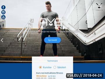 Zrzut strony Akademia Mistrzostwa Sportowego