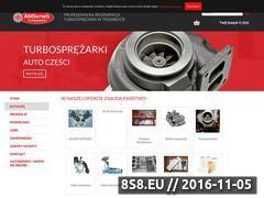 Miniaturka domeny www.amserwis.pl