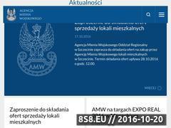 Miniaturka domeny www.amw.com.pl