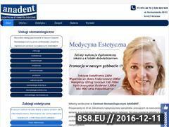 Miniaturka domeny anadent-annawojtyla.pl