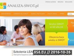 Miniaturka domeny www.analiza-swot.pl