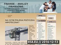 Miniaturka domeny www.analizafinansowa.biz.pl