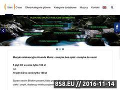 Miniaturka domeny www.anandamusic.pl
