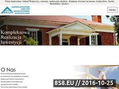 Miniaturka domeny www.anbudwadowice.pl