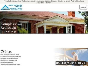 Zrzut strony Usługi budowlane, remonty i malowanie dachów