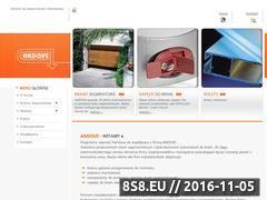 Miniaturka domeny www.andove.pl