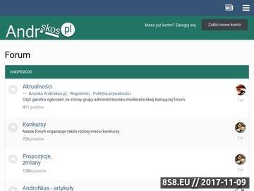 Zrzut strony Andriskos - Forum Wielotematyczne :: Strona Główna