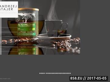Zrzut strony Andrzej Stajer - Studio Fotografii Reklamowej