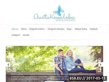 Zrzut strony Fotograf ślubny i dziecięcy Łódź