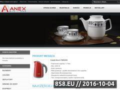 Miniaturka domeny anex-agd.pl