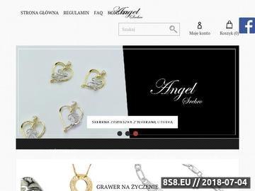 Zrzut strony Biżuteria z grawerem