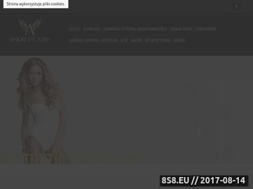Zrzut strony Angel Factory w Warszawie - Grzybica paznokci: objawy i leczenie
