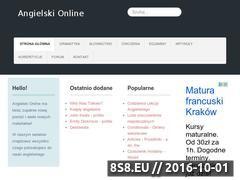 Miniaturka domeny www.angielski-online.pl