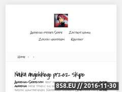Miniaturka domeny www.angielski-skype.com