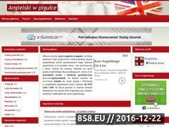 Miniaturka domeny www.angielski.nauczaj.com
