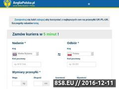 Miniaturka domeny angliapolska.pl